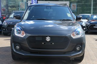 2017 Suzuki Swift AZ GLX Turbo Grey 6 Speed Sports Automatic Hatchback