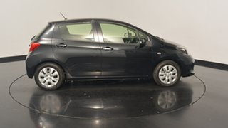2015 Toyota Yaris NCP130R Ascent Black 4 Speed Automatic Hatchback