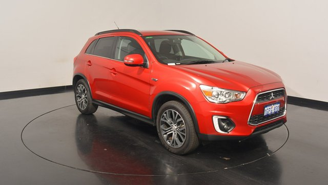 Used Mitsubishi ASX XB MY15.5 LS 2WD, 2016 Mitsubishi ASX XB MY15.5 LS 2WD Red 6 Speed Constant Variable Wagon
