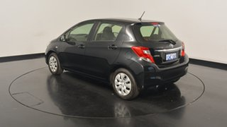2015 Toyota Yaris NCP130R Ascent Black 4 Speed Automatic Hatchback.