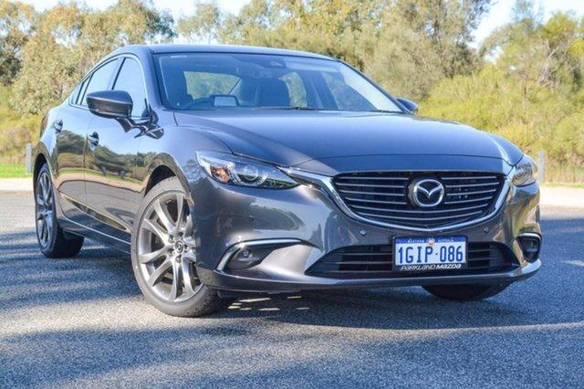 Demo Mazda 6 GL1031 GT SKYACTIV-Drive, 2017 Mazda 6 GL1031 GT SKYACTIV-Drive Grey 6 Speed Sports Automatic Sedan