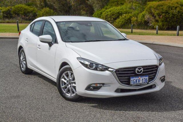Demo Mazda 3 BN5276 Touring SKYACTIV-MT, 2017 Mazda 3 BN5276 Touring SKYACTIV-MT White 6 Speed Manual Sedan