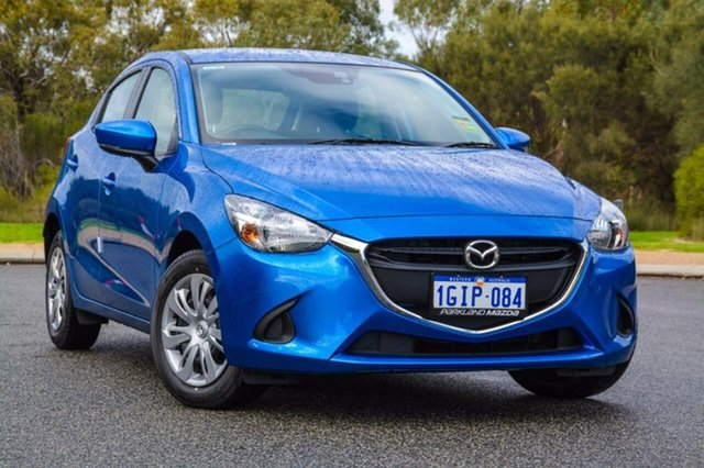 Demo Mazda 2 DJ2HA6 Neo SKYACTIV-MT, 2017 Mazda 2 DJ2HA6 Neo SKYACTIV-MT Blue 6 Speed Manual Hatchback