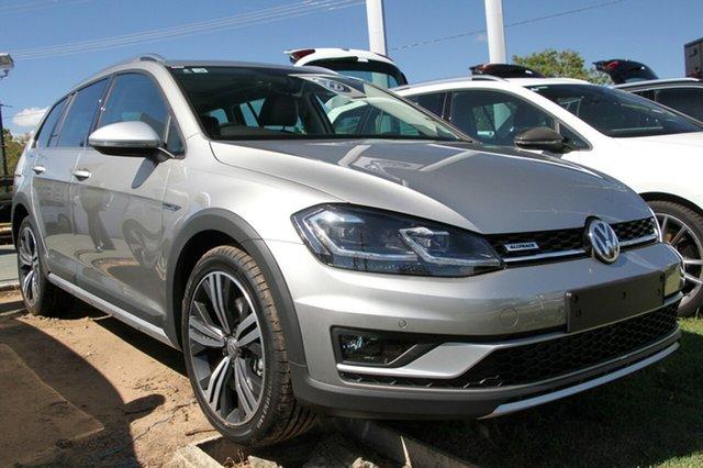 New Volkswagen Golf 7.5 MY19.5 Alltrack DSG 4MOTION 132TSI Premium, 2019 Volkswagen Golf 7.5 MY19.5 Alltrack DSG 4MOTION 132TSI Premium Tungsten Silver 6 Speed