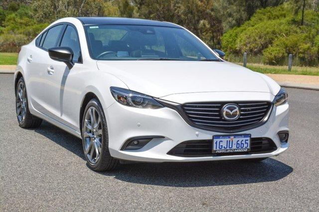 Demo Mazda 6 GL1031 Atenza SKYACTIV-Drive, 2017 Mazda 6 GL1031 Atenza SKYACTIV-Drive White 6 Speed Sports Automatic Sedan