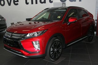 2019 Mitsubishi Eclipse Cross YA MY19 Exceed (AWD) Red Diamond Continuous Variable Wagon.