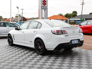 2016 Holden Commodore VF II MY16 SS V Redline White 6 Speed Sports Automatic Sedan