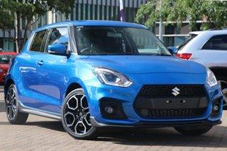 2019 Suzuki Swift AZ Sport Blue 6 Speed Sports Automatic Hatchback.