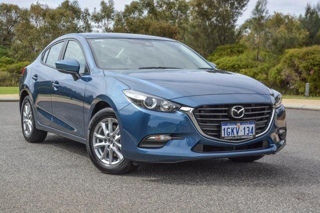 Demo Mazda 3 BN5278 Neo SKYACTIV-Drive, 2017 Mazda 3 BN5278 Neo SKYACTIV-Drive Blue 6 Speed Sports Automatic Sedan