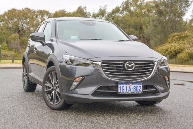 Demo Mazda CX-3 DK2W7A sTouring SKYACTIV-Drive, 2017 Mazda CX-3 DK2W7A sTouring SKYACTIV-Drive Grey 6 Speed Sports Automatic Wagon