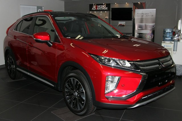 New Mitsubishi Eclipse Cross YA MY19 Exceed AWD, 2019 Mitsubishi Eclipse Cross YA MY19 Exceed AWD Red Diamond 8 Speed Constant Variable Wagon