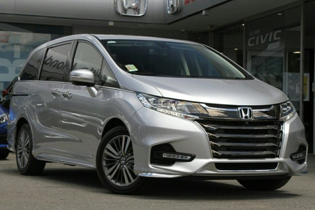 New Honda Odyssey RC MY19 VTi-L, 2018 Honda Odyssey RC MY19 VTi-L Super Platinum 7 Speed Constant Variable Wagon