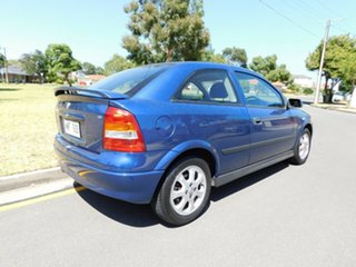 2003 Holden Astra TS MY03 SXI Blue 5 Speed Manual Hatchback.
