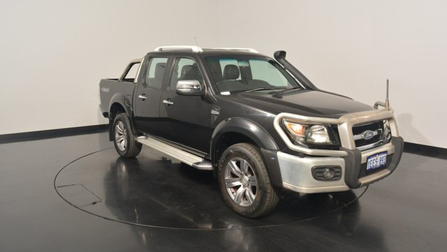 Used Ford Ranger PK Wildtrak Crew Cab, 2010 Ford Ranger PK Wildtrak Crew Cab Black Mica 5 Speed Automatic Utility
