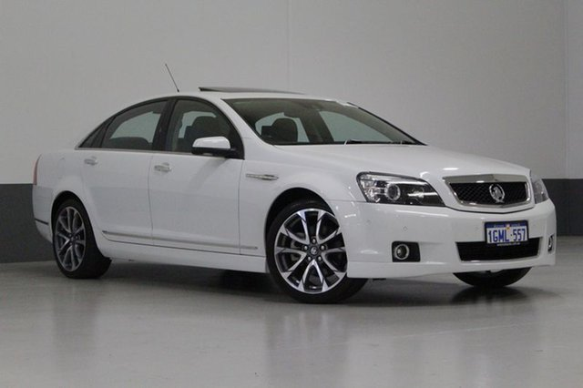 Used Holden Caprice WN MY15 V, 2015 Holden Caprice WN MY15 V White 6 Speed Auto Active Sequential Sedan