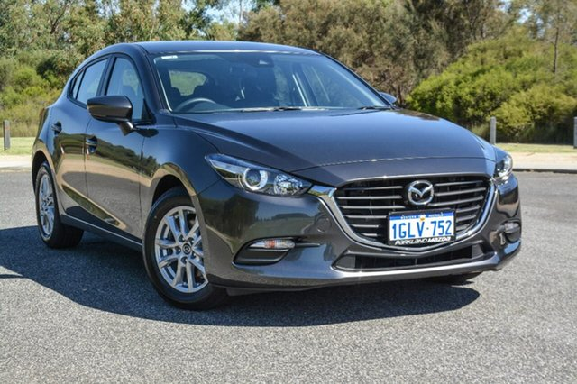 Demo Mazda 3 BN5476 Neo SKYACTIV-MT, 2017 Mazda 3 BN5476 Neo SKYACTIV-MT Grey 6 Speed Manual Hatchback