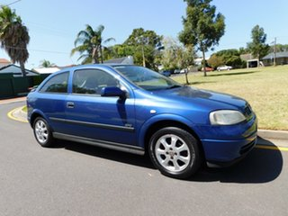 2003 Holden Astra TS MY03 SXI Blue 5 Speed Manual Hatchback