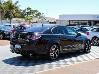 2013 Holden Special Vehicles Clubsport GEN-F MY14 R8 Black/Grey 6 Speed Manual Sedan