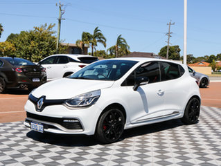 2015 Renault Clio IV B98 R.S. 200 EDC Cup Premium White 6 Speed Sports Automatic Dual Clutch.