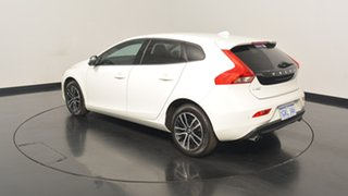 2017 Volvo V40 M Series MY18 T3 Adap Geartronic Momentum White 6 Speed Sports Automatic Hatchback.