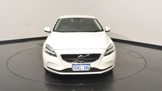 2017 Volvo V40 M Series MY18 T3 Adap Geartronic Momentum White 6 Speed Sports Automatic Hatchback
