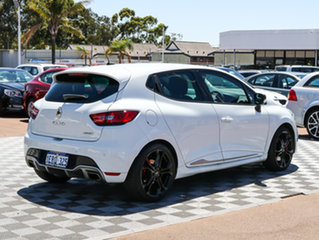 2015 Renault Clio IV B98 R.S. 200 EDC Cup Premium White 6 Speed Sports Automatic Dual Clutch