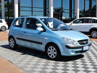 2011 Hyundai Getz TB MY09 SX Blue 4 Speed Automatic Hatchback.