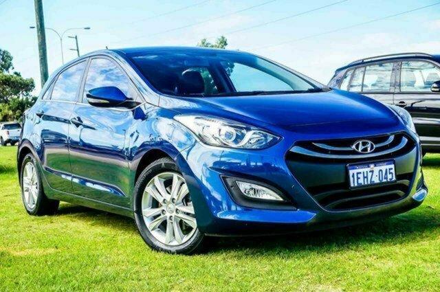 Used Hyundai i30 GD Elite Albion, 2013 Hyundai i30 GD Elite Blue 6 Speed Sports Automatic Hatchback