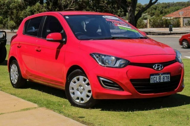 Used Hyundai i20 PB MY13 Active Albion, 2012 Hyundai i20 PB MY13 Active Red 4 Speed Automatic Hatchback