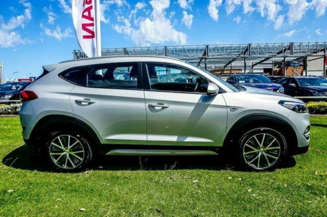 Used Hyundai Tucson TL MY17 Active X 2WD Albion, 2016 Hyundai Tucson TL MY17 Active X 2WD Platinum Silver 6 Speed Sports Automatic Wagon