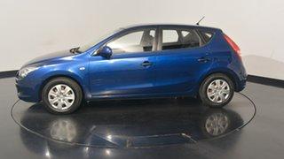 2012 Hyundai i30 FD MY11 SX Santorini Blue 5 Speed Manual Hatchback.