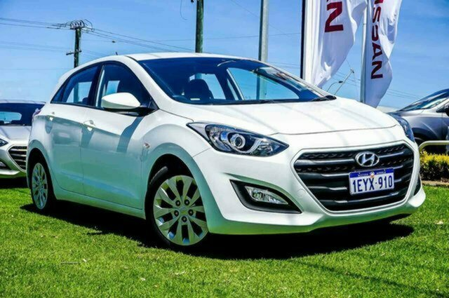 Used Hyundai i30 GD4 Series II MY17 Active Albion, 2016 Hyundai i30 GD4 Series II MY17 Active White 6 Speed Sports Automatic Hatchback