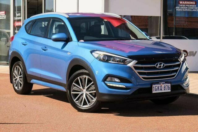Used Hyundai Tucson TL Active X 2WD Albion, 2015 Hyundai Tucson TL Active X 2WD Blue 6 Speed Sports Automatic Wagon