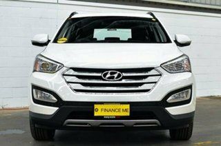 2014 Hyundai Santa Fe DM MY14 Active White 6 Speed Sports Automatic Wagon.