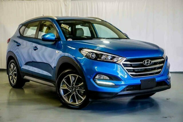 Used Hyundai Tucson TL MY17 Active X 2WD Albion, 2017 Hyundai Tucson TL MY17 Active X 2WD Blue 6 Speed Sports Automatic Wagon