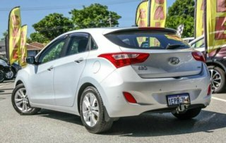 2014 Hyundai i30 GD MY14 Elite Silver 6 Speed Sports Automatic Hatchback.