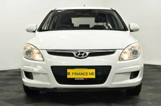 2009 Hyundai i30 FD MY09 SX White 4 Speed Automatic Hatchback.