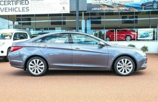 2012 Hyundai i45 YF MY11 Premium Dark Grey 6 Speed Sports Automatic Sedan