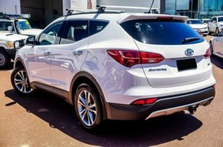 2014 Hyundai Santa Fe DM2 MY15 Elite White 6 Speed Sports Automatic Wagon.