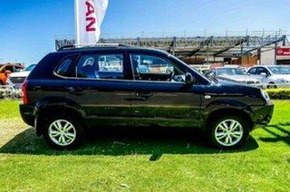 2009 Hyundai Tucson JM MY09 City SX Black 5 Speed Manual Wagon.