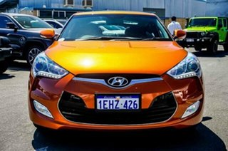 2013 Hyundai Veloster FS2 + Coupe D-CT Orange 6 Speed Sports Automatic Dual Clutch Hatchback