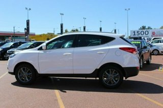 2014 Hyundai Santa Fe DM2 MY15 Elite White 6 Speed Sports Automatic Wagon