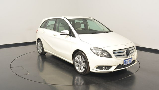 Used Mercedes-Benz B200 W246 BlueEFFICIENCY DCT, 2013 Mercedes-Benz B200 W246 BlueEFFICIENCY DCT White 7 Speed Sports Automatic Dual Clutch Hatchback