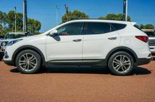 2015 Hyundai Santa Fe DM2 MY15 Highlander Creamy White 6 Speed Sports Automatic Wagon.
