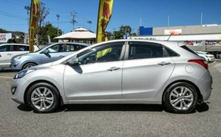 2014 Hyundai i30 GD MY14 Elite Silver 6 Speed Sports Automatic Hatchback