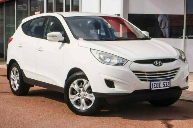 Used Hyundai ix35 LM MY12 Active Albion, 2012 Hyundai ix35 LM MY12 Active White 6 Speed Sports Automatic Wagon