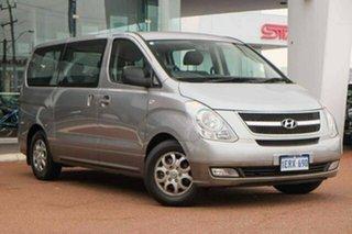 2012 Hyundai iMAX TQ-W MY12 Silver 5 Speed Automatic Wagon.