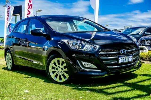 Used Hyundai i30 GD4 Series II MY17 Active Albion, 2017 Hyundai i30 GD4 Series II MY17 Active Black 6 Speed Sports Automatic Hatchback