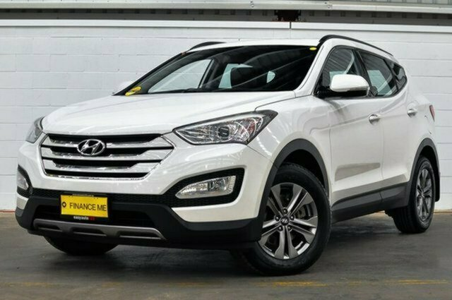 Used Hyundai Santa Fe DM MY14 Active Albion, 2014 Hyundai Santa Fe DM MY14 Active White 6 Speed Sports Automatic Wagon