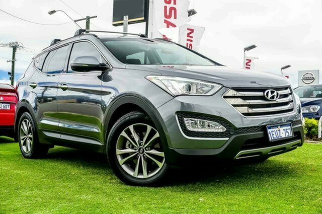 Used Hyundai Santa Fe DM3 MY16 Elite Albion, 2015 Hyundai Santa Fe DM3 MY16 Elite Silver 6 Speed Sports Automatic Wagon